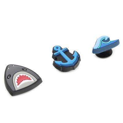 Levně Ozdoby na boty Crocs Ocean 3-Pack 10007833