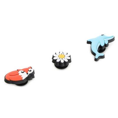 Levně Ozdoby na boty Crocs Clever And Cute 3-Pack 10007829