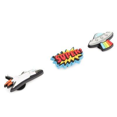 Levně Ozdoby na boty Crocs Blast Off 3-Pack 10007832