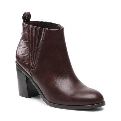 Levně Kotníkové boty Clara Barson WYL2695-2 Imitace kůže/-Ekologická kůže