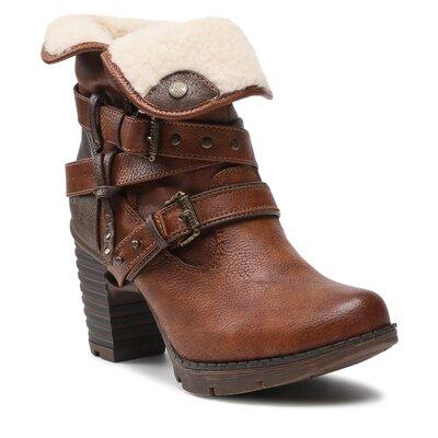 Levně Kotníkové boty Mustang 1292-602-307 Imitace kůže/-Ekologická kůže