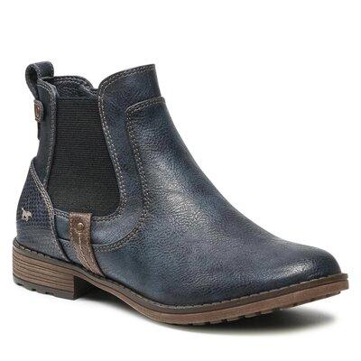 Levně Kotníkové boty Mustang 1265-501 Imitace kůže/-Ekologická kůže