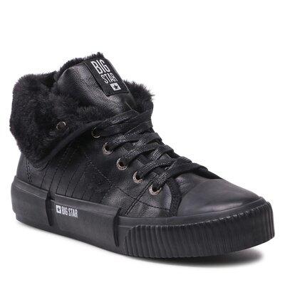 Levně Šněrovací obuv BIG STAR II274155C Imitace kůže/-Ekologická kůže