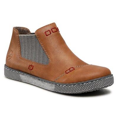 Levně Kotníkové boty Rieker L1290-25 Imitace kůže/-Ekologická kůže