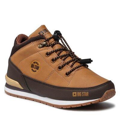 Levně Šněrovací obuv BIG STAR GG374102C Imitace kůže/-Ekologická kůže