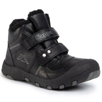 Levně Šněrovací obuv KAPPA Solid Tex K 260565K Imitace kůže/-Ekologická kůže