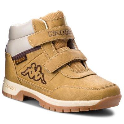 Levně Šněrovací obuv KAPPA Bright Mid K 260239K Ekologická kůže /-Ekologická kůže