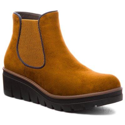 Členkové topánky Rieker 99194-24 Materiał tekstylny