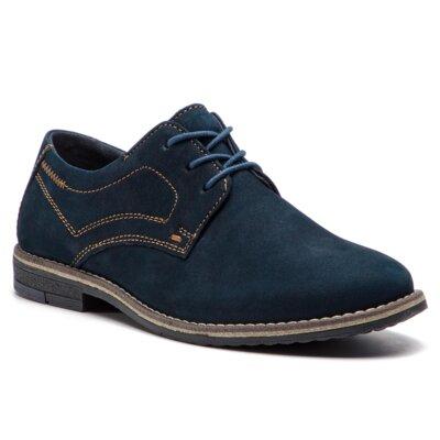 Pantofi cu toc mediu Lasocki Young CI08-397-426-03 Piele naturală - Nubuc