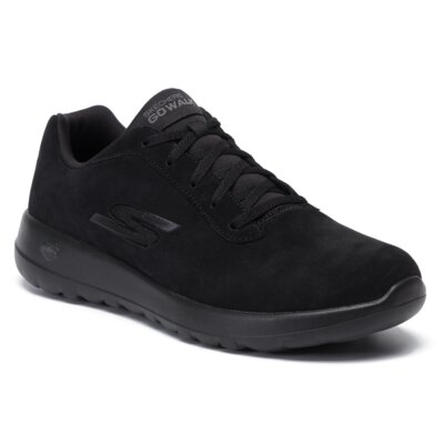 Adidași Skechers Go Walk Max - Evaluate 54619BBK Piele naturală - De antilopă imagine