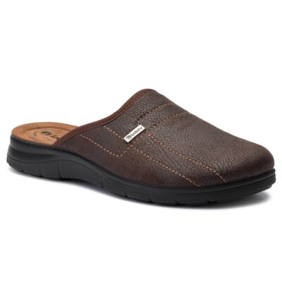 Papuci de casă INBLU BG988M01 Piele ecologică/-Piele ecologică imagine