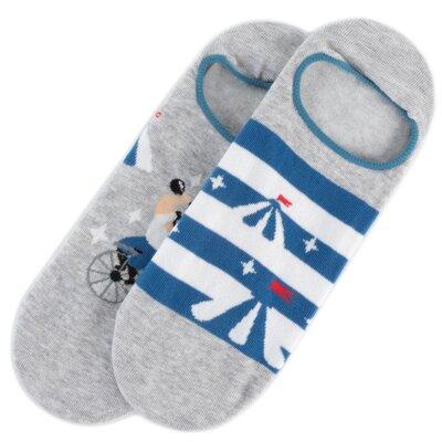 Levně Ponožky ACCCESSORIES 098 UM016 r. 41/43 Polyamid,Bavlna