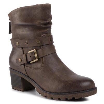 Levně Kotníkové boty Clara Barson WS0337-01 Ekologická kůže /-Ekologická kůže