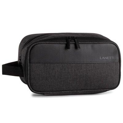 Levně Pánské tašky Lanetti BMK-S-024-11-02 Textilní materiál