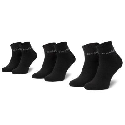 Levně Ponožky Reebok DU2921 r.39-42 Elastan,Polyamid,Polyester,Bavlna