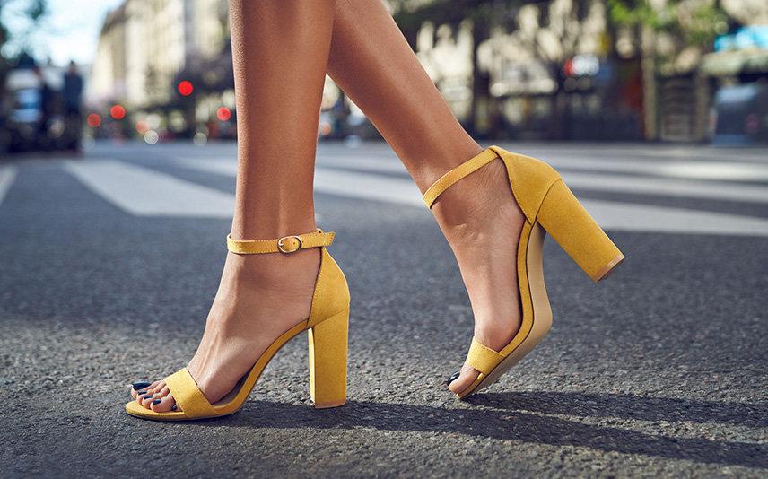 Kolorowe I Wygodne Buty Na Obcasie Moda Damska