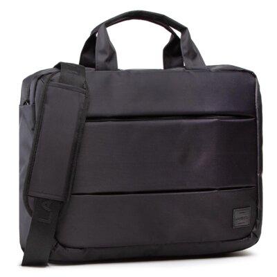 Levně Pánské tašky Lanetti BMM-S-035-10-03 Textilní materiál