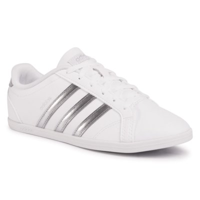 Obuwie sportowe ADIDAS B44667 ADVANTAGE CLEAN QT Biały