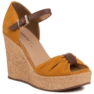 Sandały Lasocki 2190 01 Czerwony