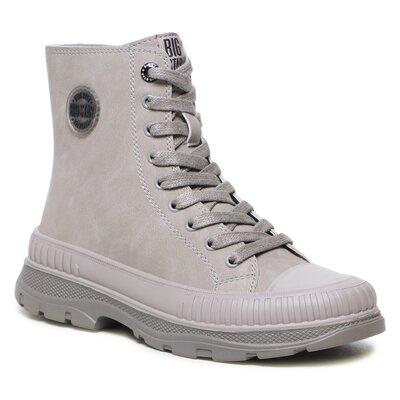 Levně Šněrovací obuv BIG STAR II274350C Imitace kůže/-Ekologická kůže