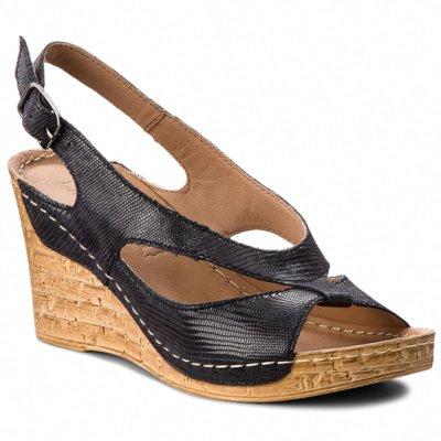 Sandały Lasocki H602 Granatowy