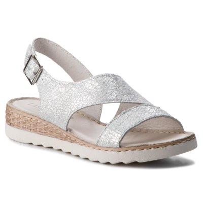ccc sandały 2111-01 czarne