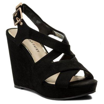 Sandały JENNY FAIRY W16SS106 14 Czarny
