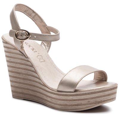 sandały lasocki 9624-03 beige