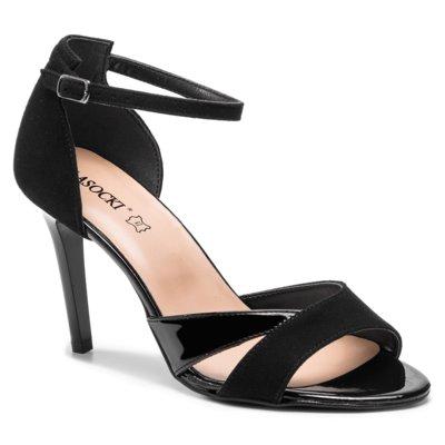 LASOCKI 0902 01 Czarny Sandały damskie w CCC